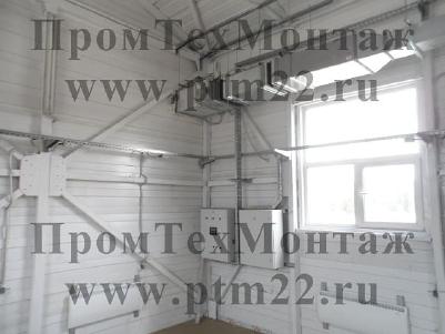 Монтаж инженерных сетей зданий и сооружений,  электрооборудования,  видеонаблюдения,  систем вентиляции
