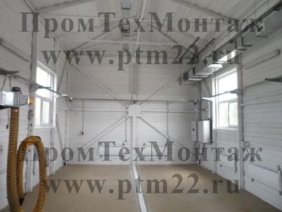 Монтаж систем вентиляции,   отопления,   водоснабжения,   электромонтажные работы,   сборка металлоконструкций