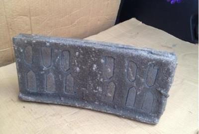 Колодка чугунная гребневая тип М для локомотивов ГОСТ 30249-97 (новая)-2019г.,   с заводским сертификатом.