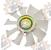 Крыльчатка вентилятора для Nissan K21 (21060FU410)
