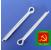 Шплинт М3 оцинкованный в коробках по 25 кг ГОСТ 397-70 РМЗ
