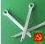 Шплинт М4 оцинкованный в коробках по 25 кг ГОСТ 397-70 РМЗ