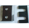 Комплект планок для рельс КР70, ГОСТ (фрез.)