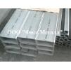 Трубы нержавеющие прямоугольные матовые AISI 304 длина 3.00м