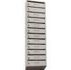 Почтовый ящик 12-ти секционный ЯПР-12 (ПО) Стандарт с окошком для номера